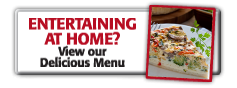 We Cater in Your Home